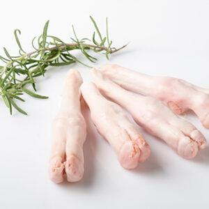 patas de cordero